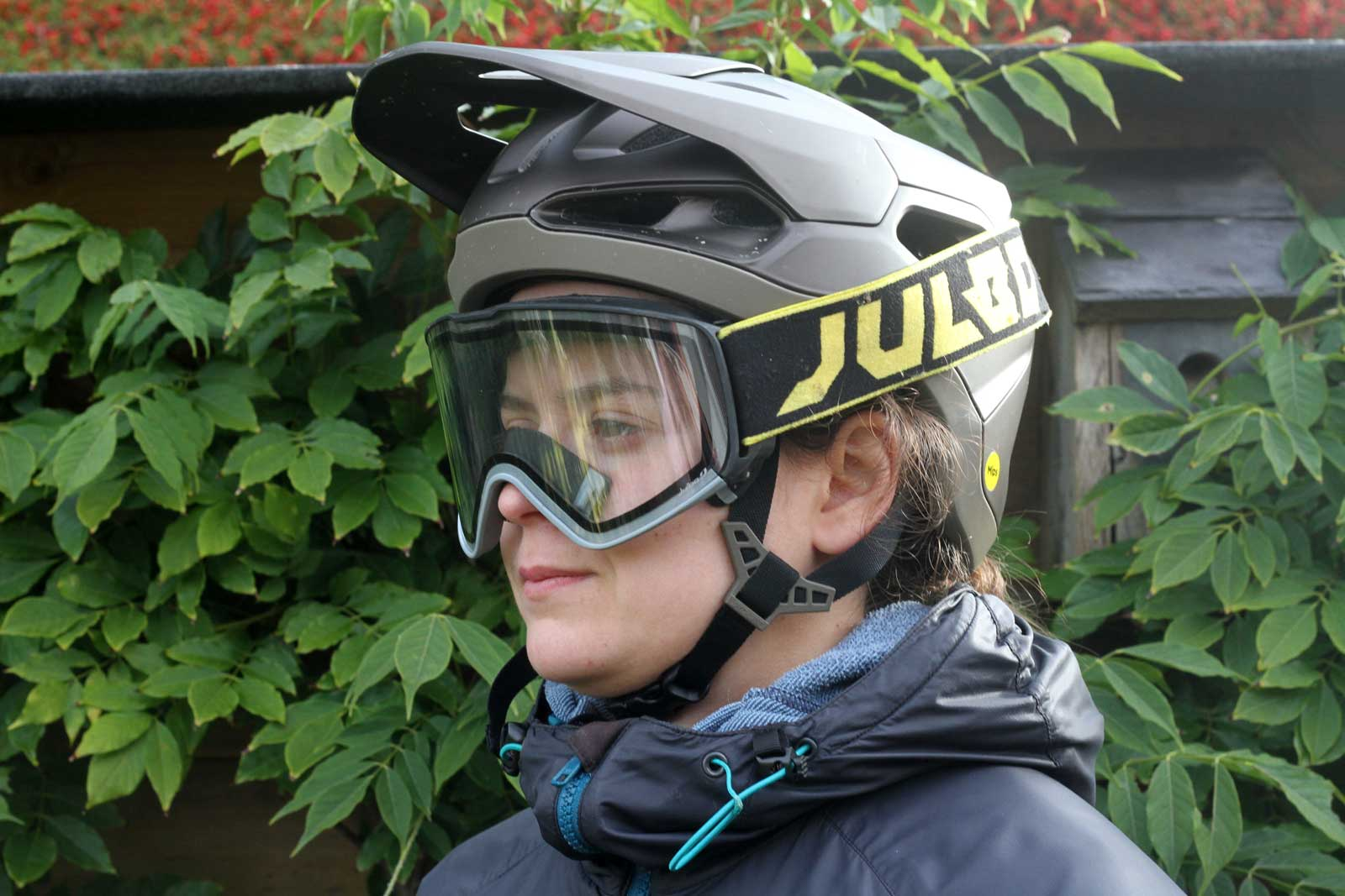 specialized tactic 4 helmet review julbo goggles on face