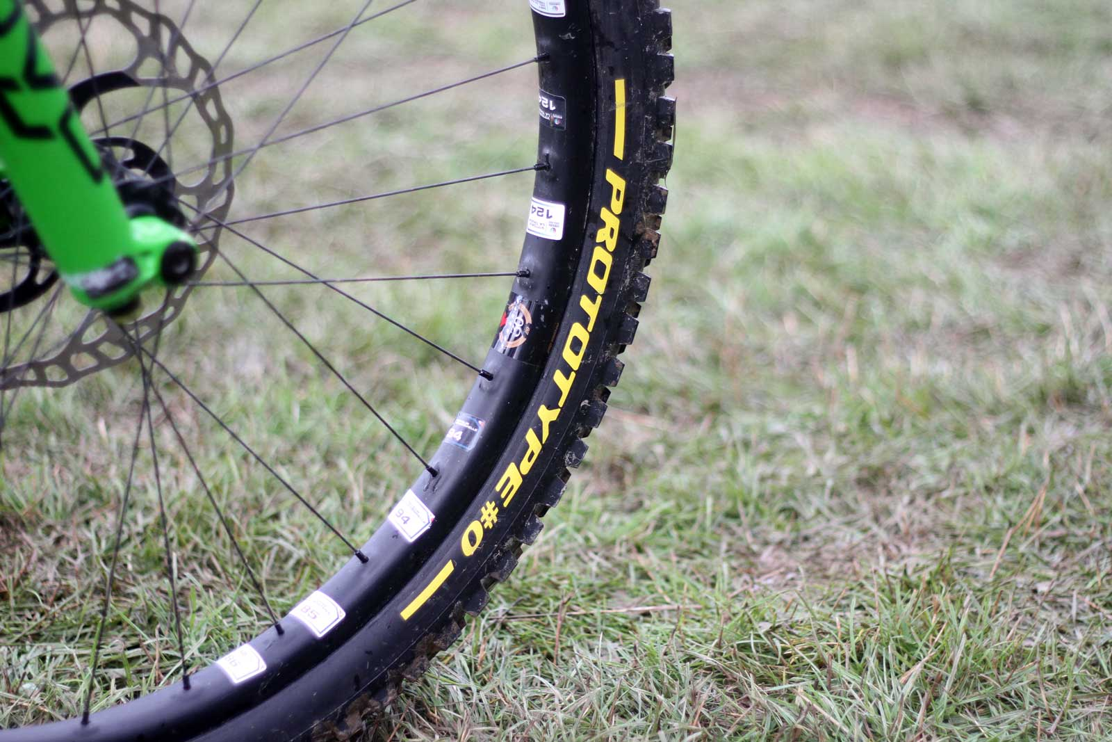 pirelli prototype #0 gravity downhill tires scorpion