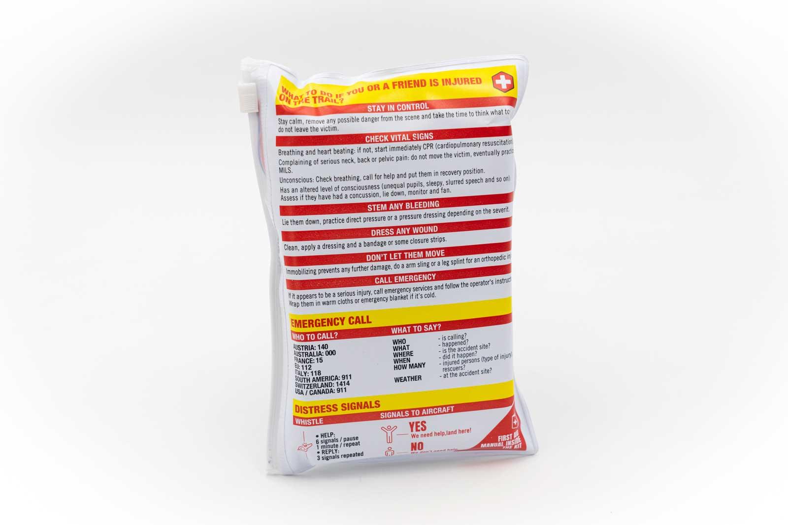 sendit mtb first aid kit advice on rear