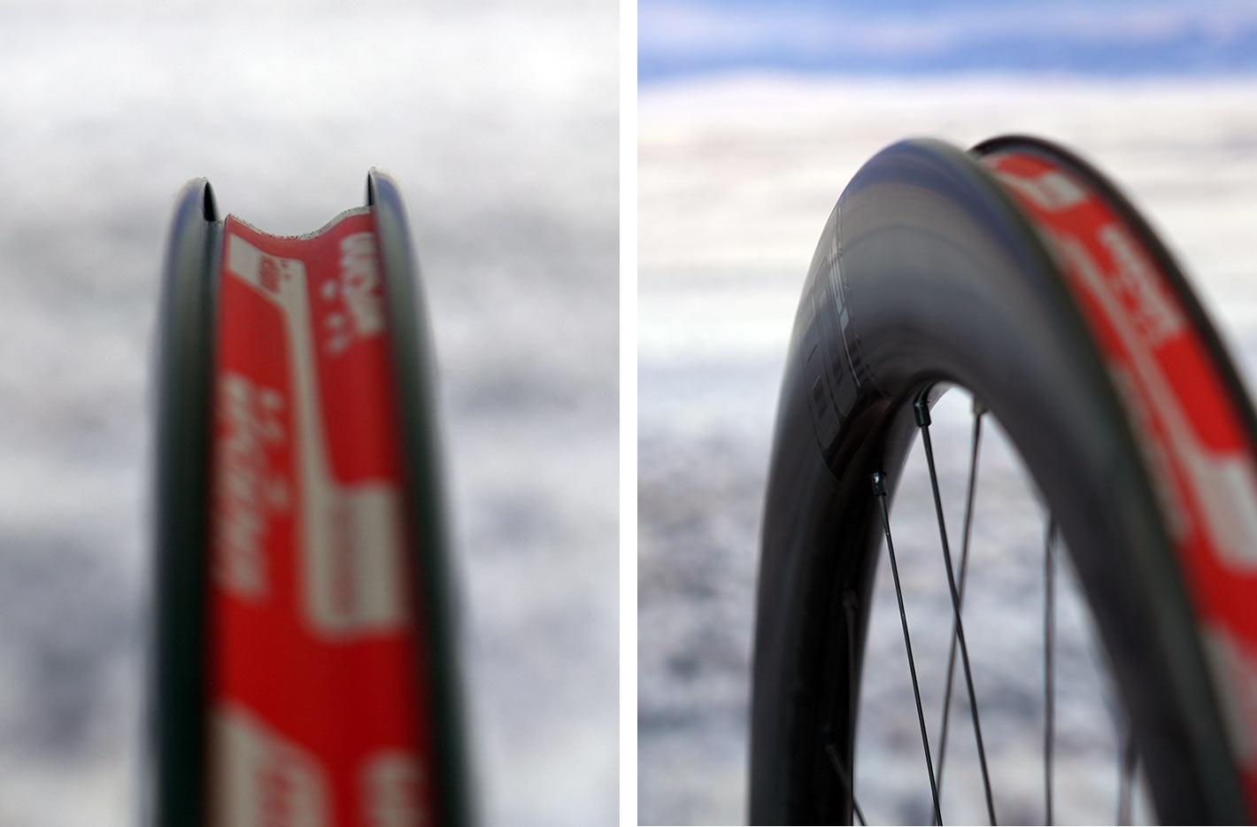 rim profiles for fas vision metron 45 sl and 60 sl aero road bike wheels