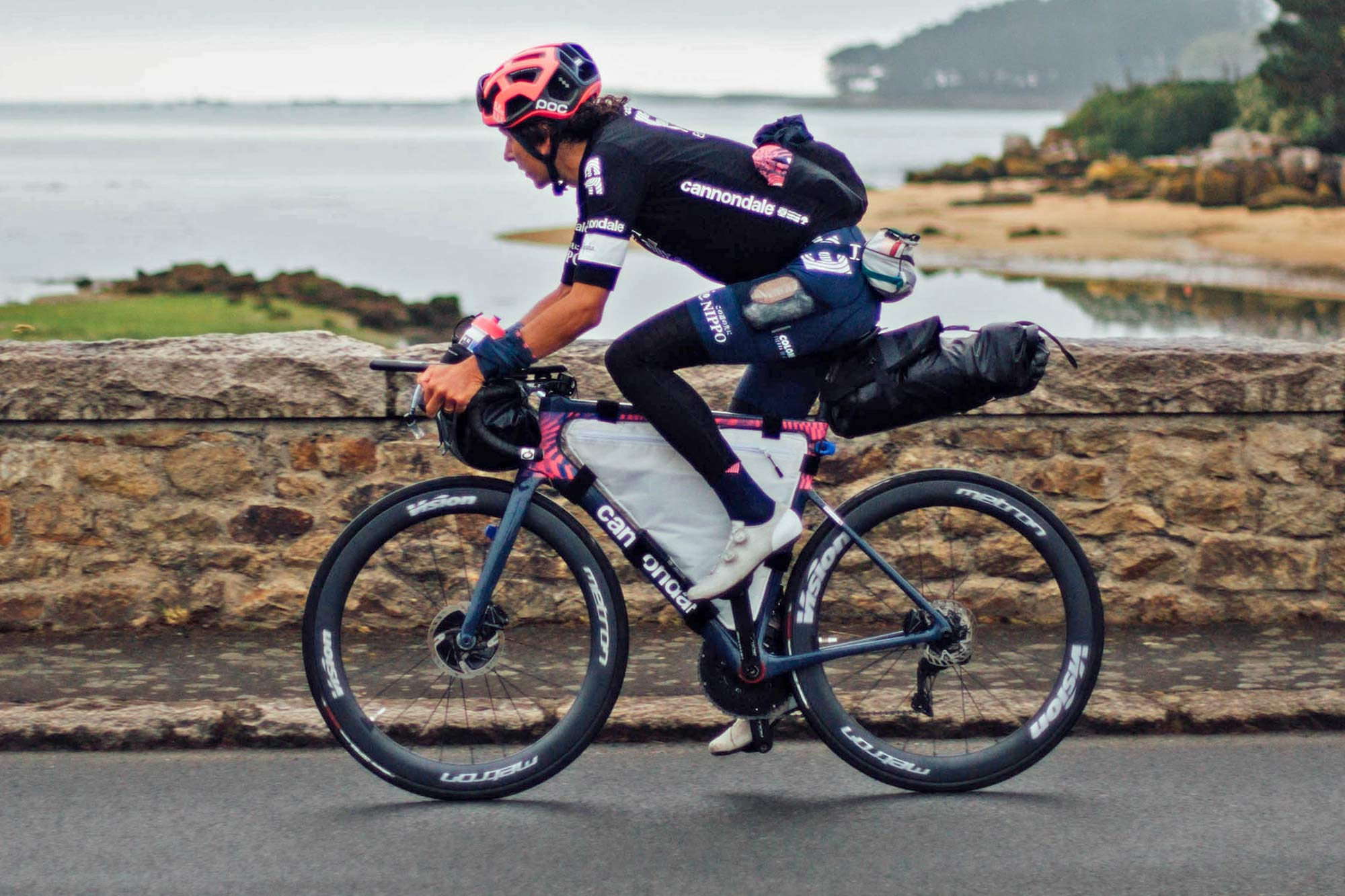 Win Lachlan Morton Alt Tour Cannondale SuperSix EVO road bike to support World Bicycle Relief
