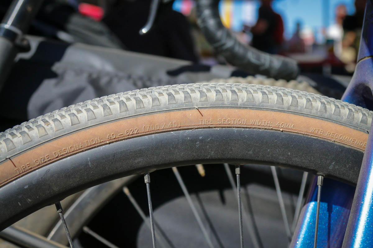 WTB Gravel Tire prototype spyshot