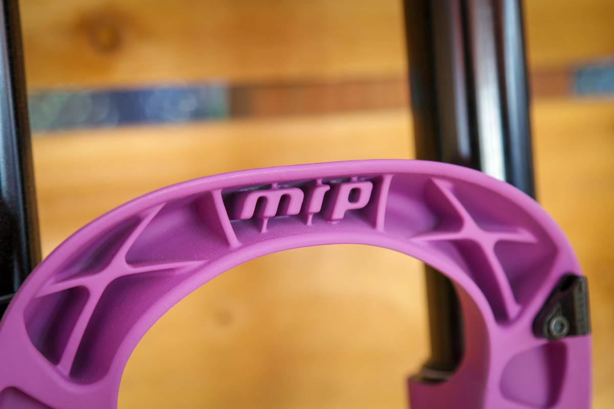 MRP Shredkote cerakote finish for suspension forks