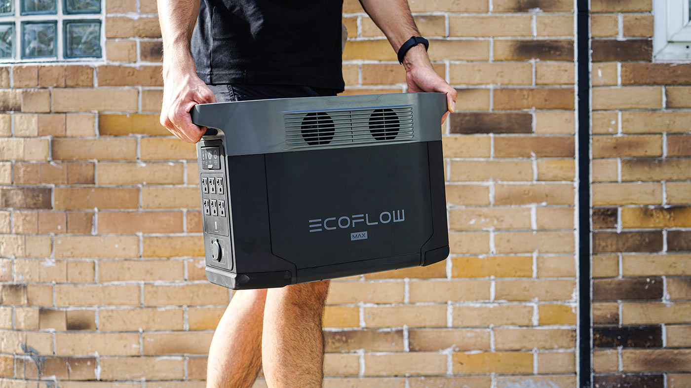 ecoflow delta max battery powered backup generator
