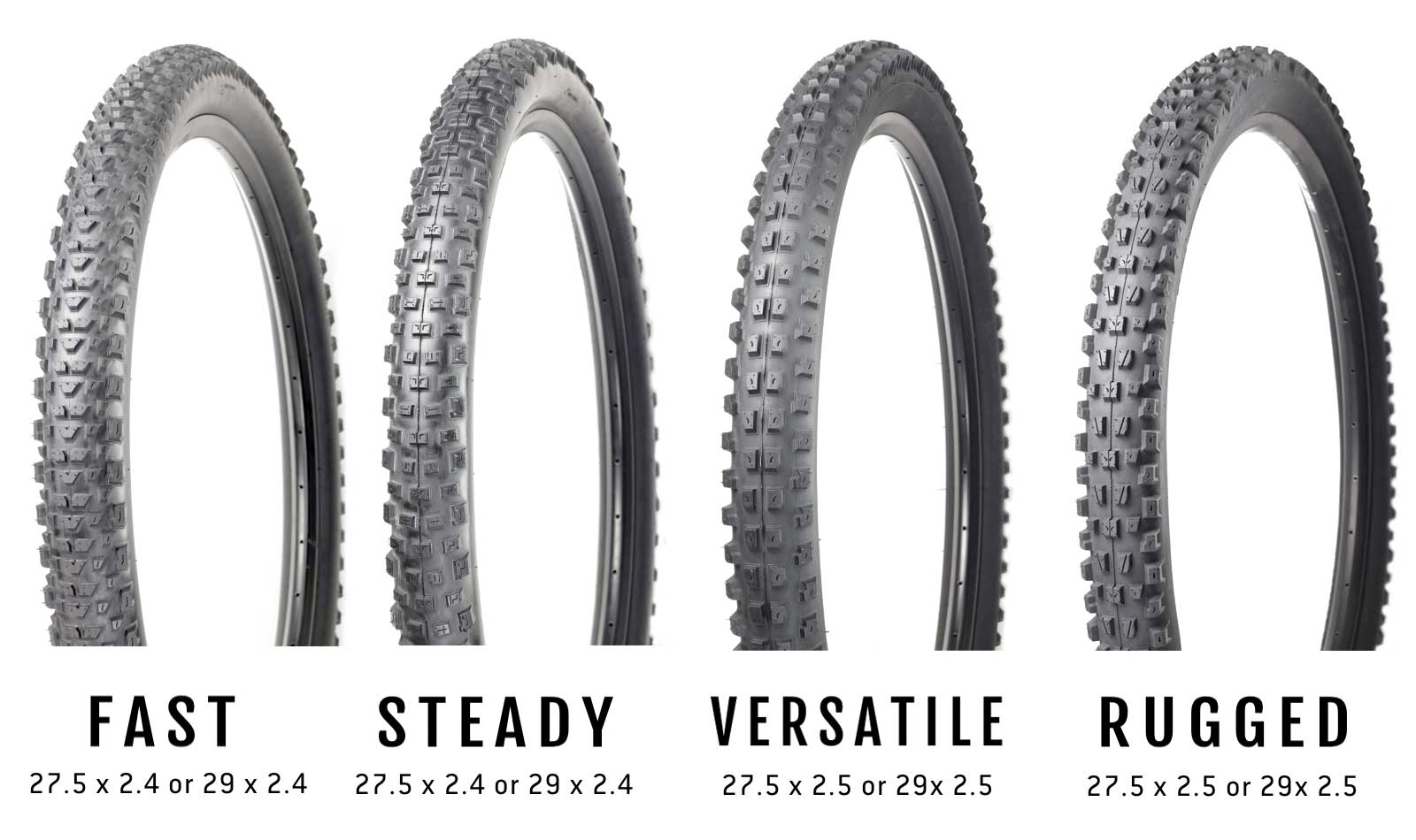 delium rugged versatile steady fast mtb tire range affordable