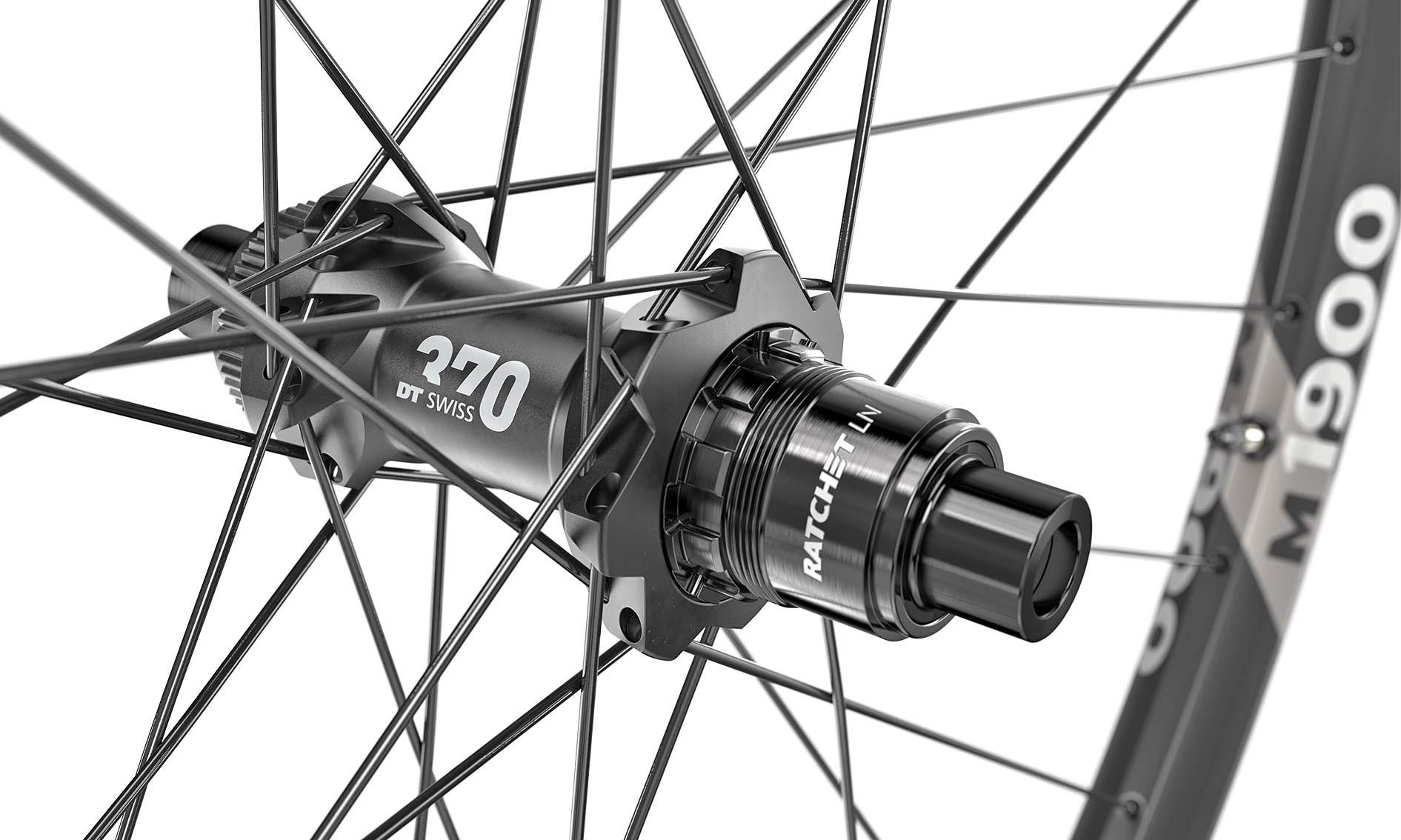 DT Swiss 1900 Spline MTB wheels upgrade to Ratchet LN hubs