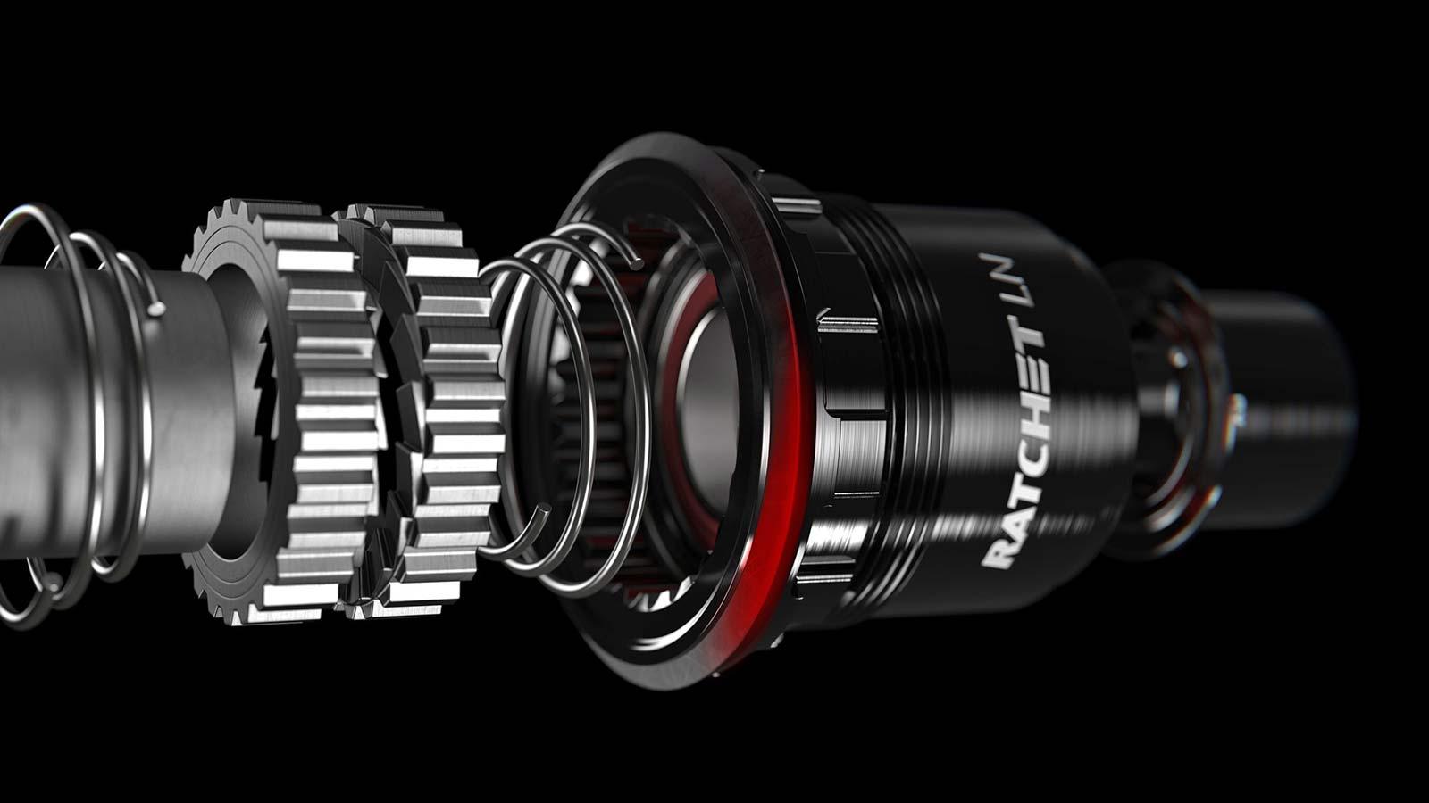 DT Swiss 1900 Spline MTB wheels upgrade to Ratchet LN upgrade