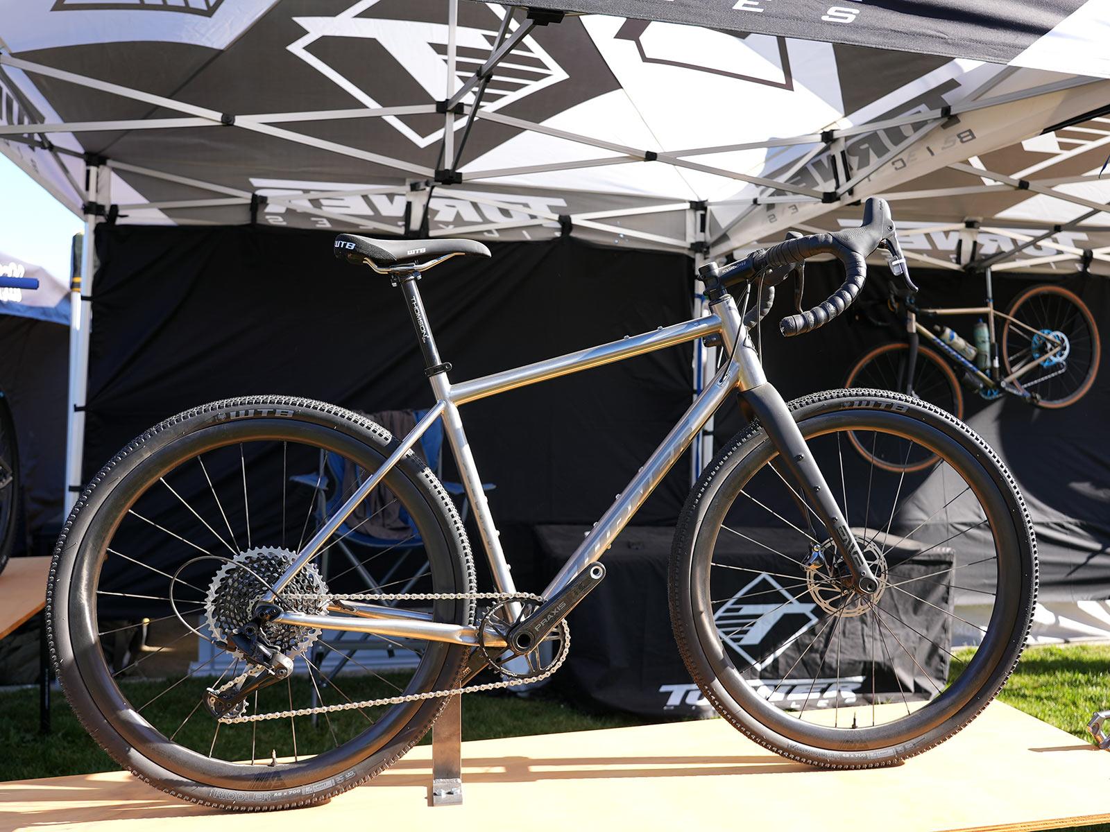 2022 turner cyclosys titanium gravel bike