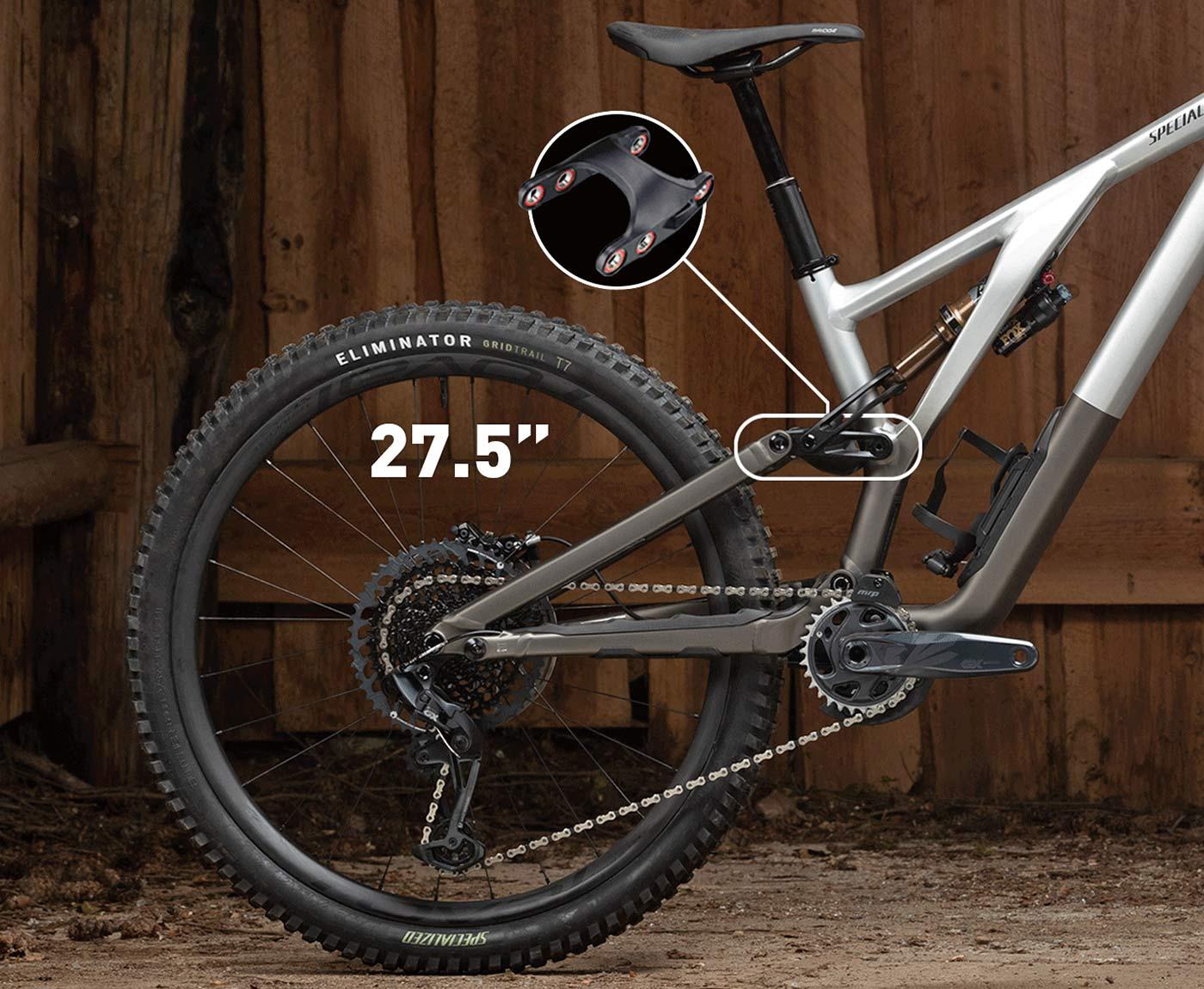 2022 Specialized Stumpjumper EVO Alloy trail bike, mulletlink