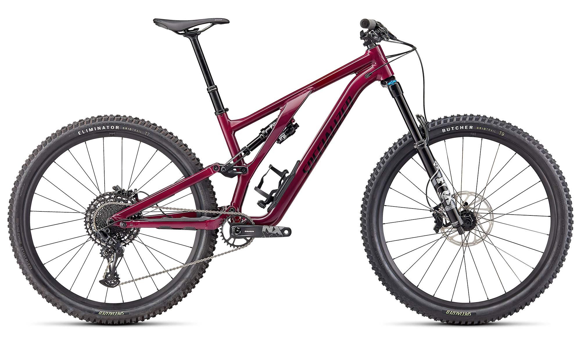 2022 Specialized Stumpjumper EVO Alloy trail bike, Comp complete