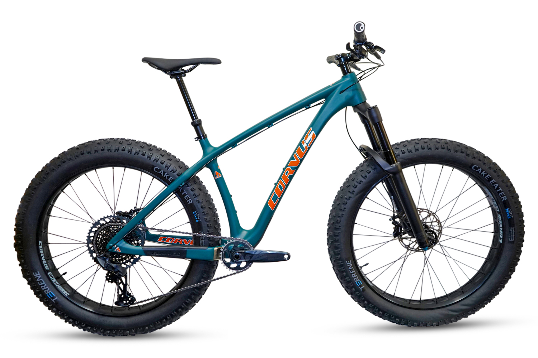 Fatback Bikes Are Now Corvus Cycles + 4 New Bikes including Crow Pass Ti Gravel / Adventure Dropbar thumbnail