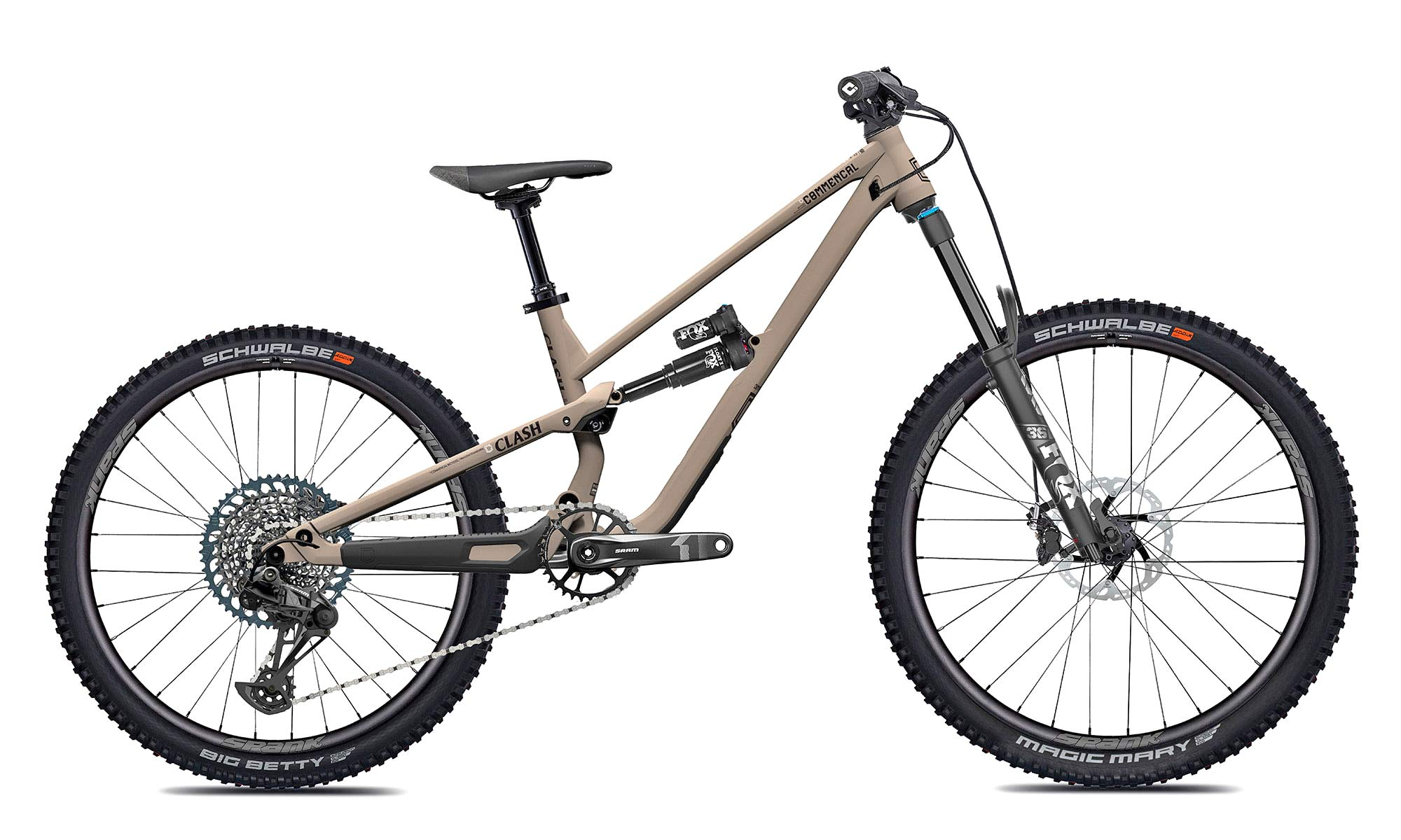 2022 Commencal Clash Kids reshapes VPP all-mountain to enduro bikes for all ages thumbnail