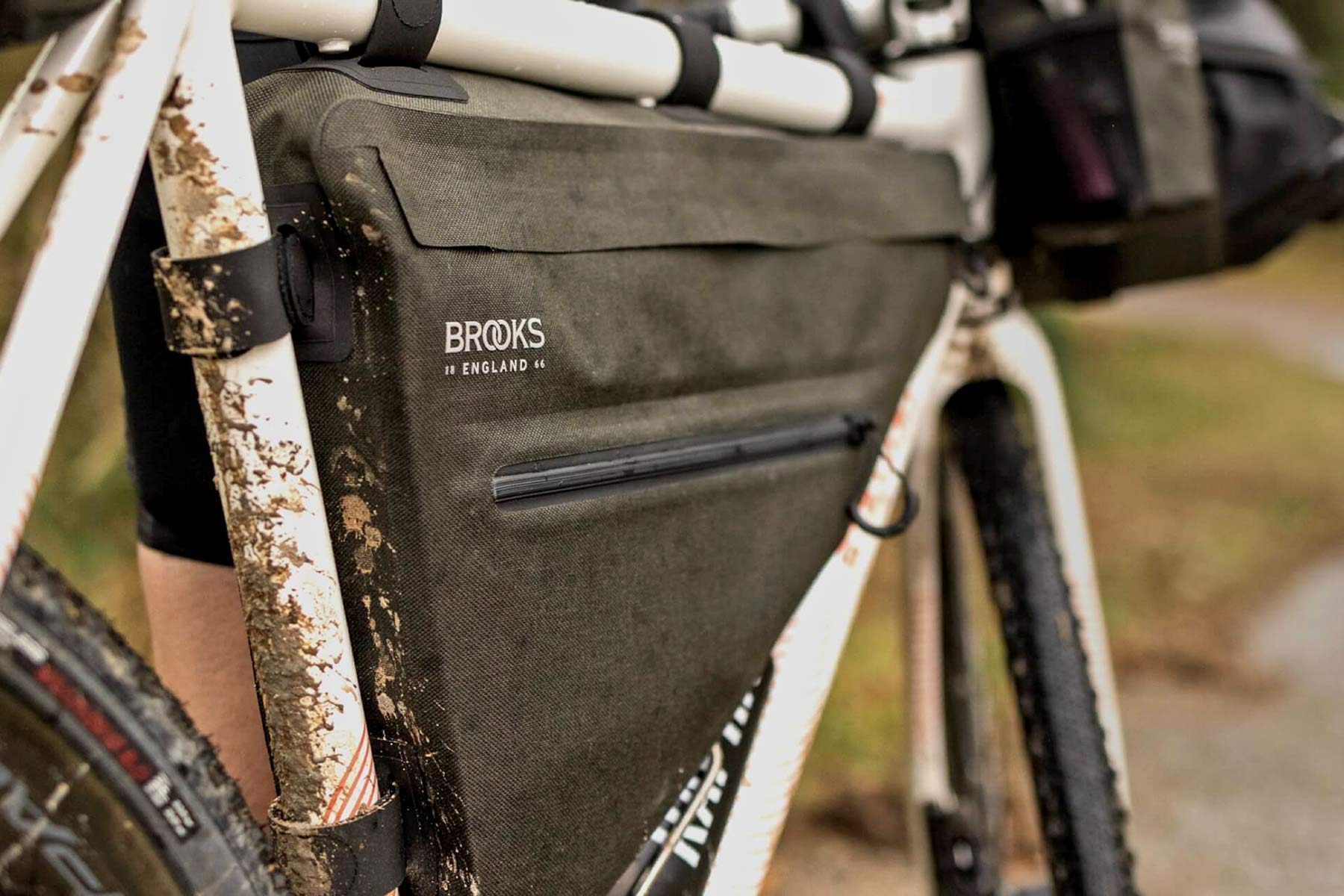 Brooks England Scape bikepacking bike touring packs