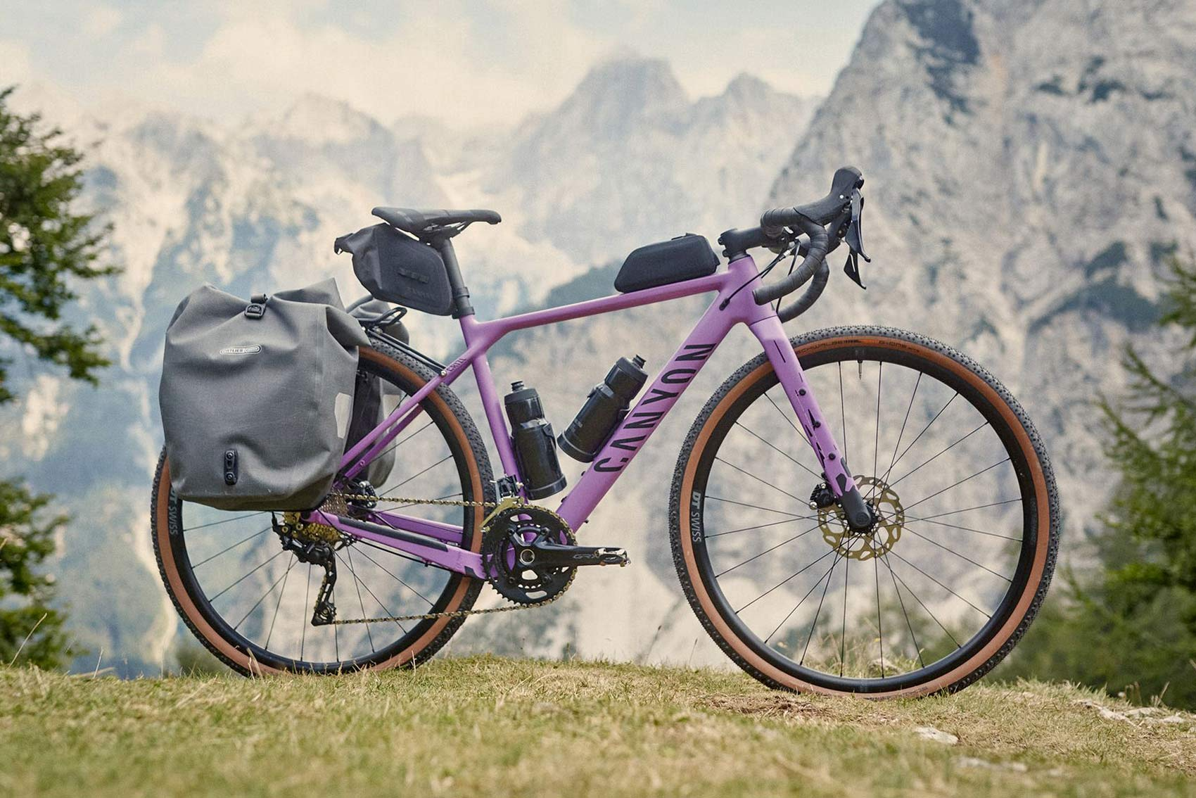 Canyon Grizl AL affordable alloy adventure gravel bike, photo by Marco Freudenreich, complete