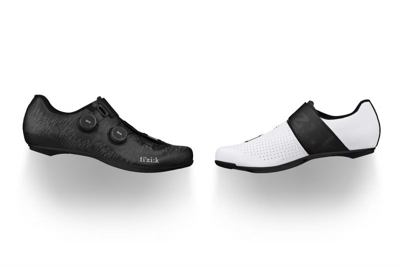 two fizik infinito wide shoes against a white background