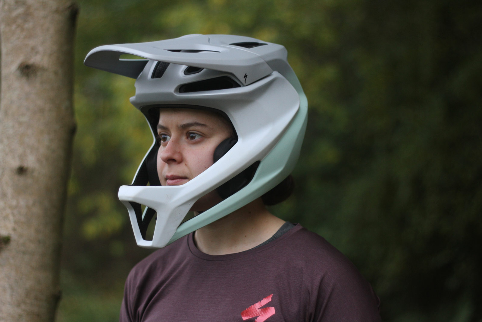 specialized gambit review lightweight full face helmet astm dh certified