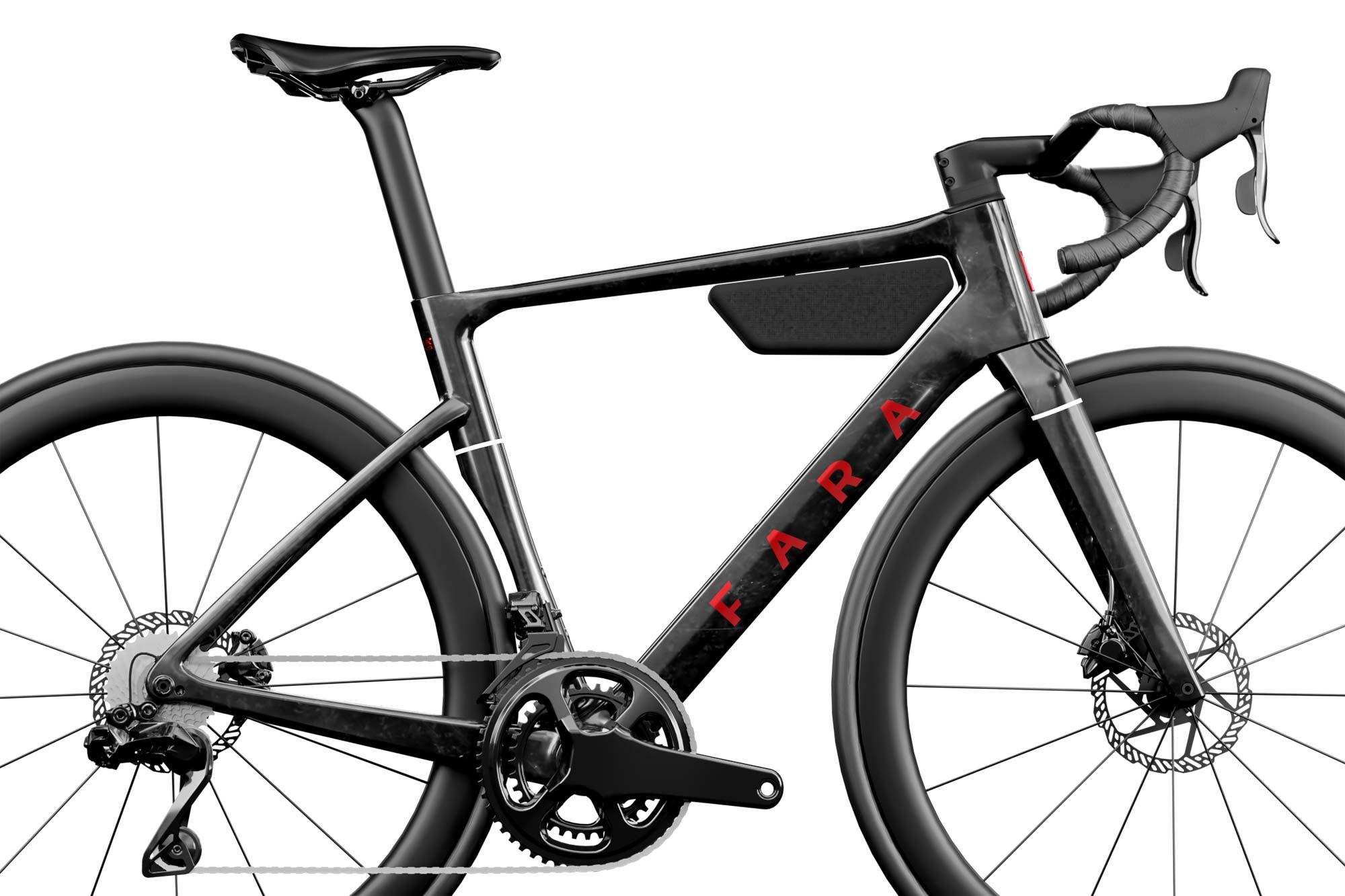 Fara F/RD aero carbon udholdenhed all-road cykel, zoom