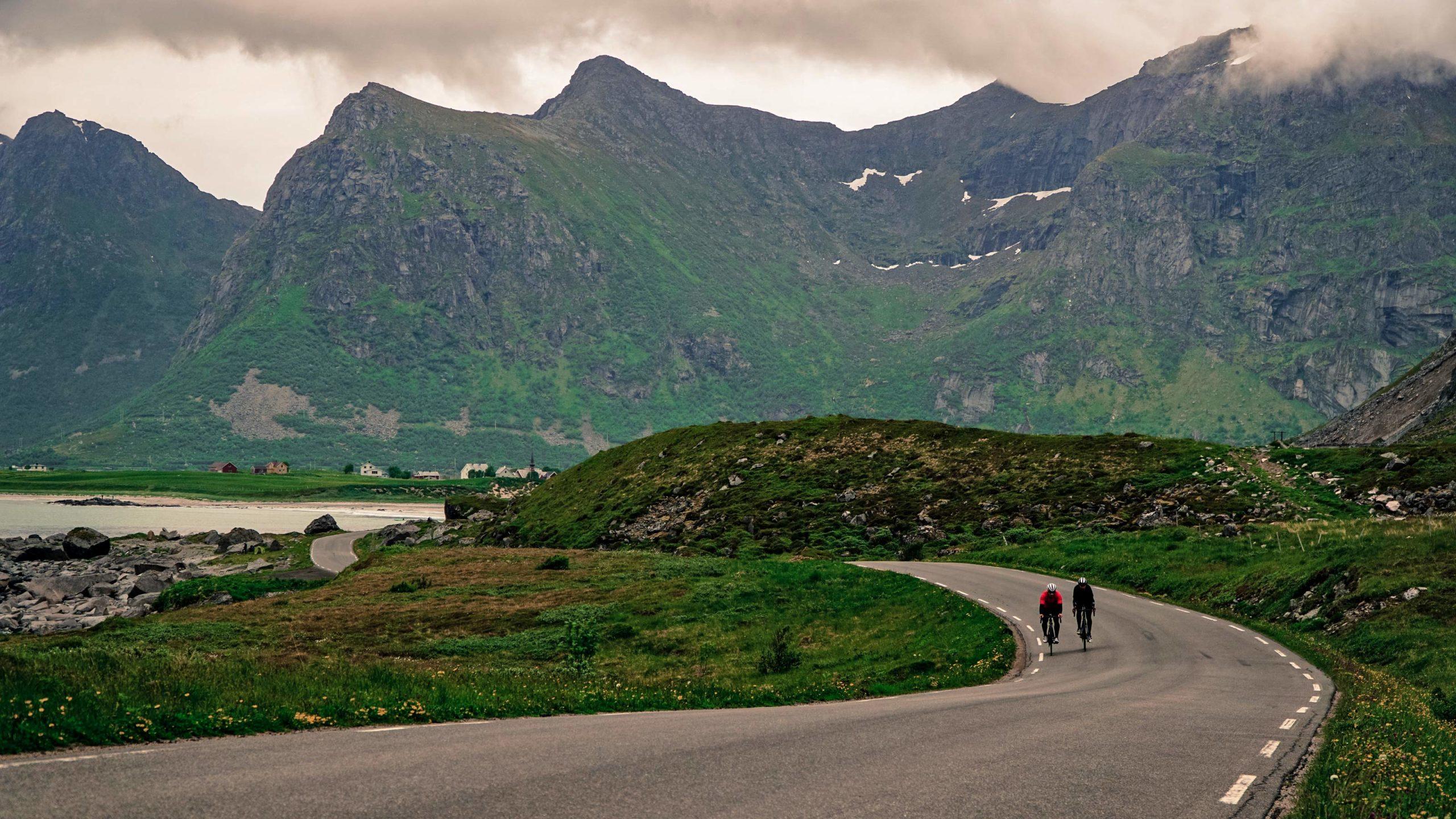 Fara F/RD aero carbon udholdenhed eventyr terrængående cykel, norske bjerge