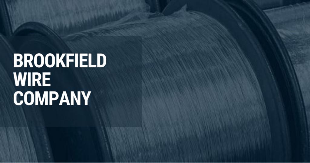 Brookfield Wire Supply Blue Logo