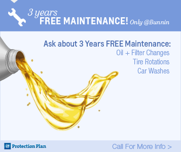 3 Years Free Maintenance - Only at Bunnin Chevrolet | Los Angeles Chevrolet Dealer