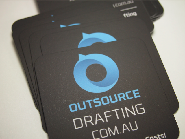 Outsource Drafting Business Cards