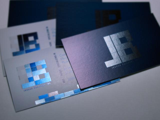 joshua builders business cards