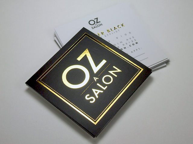 OZ salon gold foil