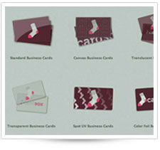 Select your custom business card
