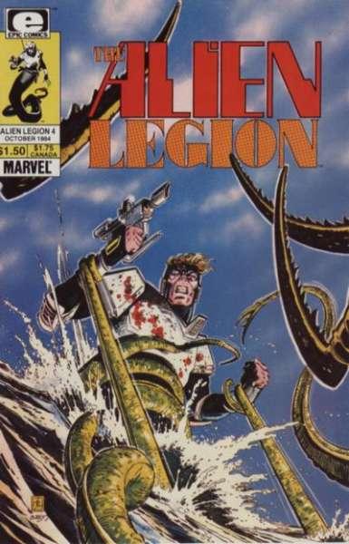 Alien Legion 1984 series # 2 near mint comic book