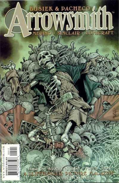 Arrowsmith #1 September 2003 Wildstorm DC Comics Merino Sinclair Comicraft