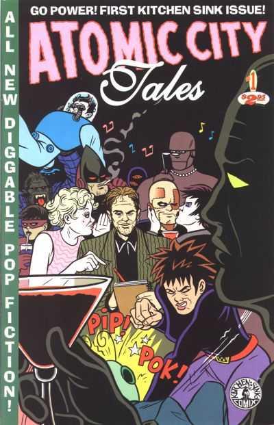 Atomic City Tales comic books
