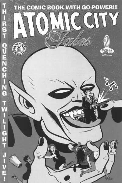 Atomic City Tales #2 comic books for sale