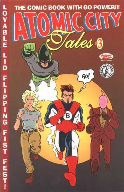 Atomic City Tales #3 comic books for sale