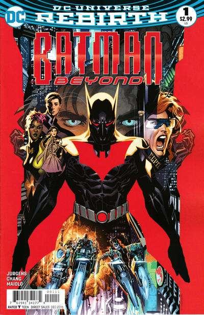 Batman Beyond Comic Books. Batman Beyond Comics.