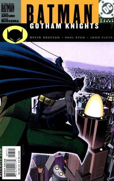 Batman Gotham Knights 2000 series # 16 near mint comic book