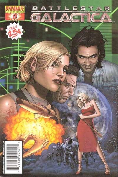 Battlestar Galactica comic books
