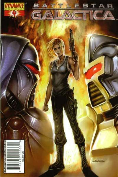 Battlestar Galactica #4 comic books for sale