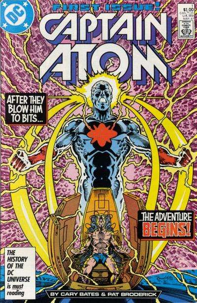Captain Atom Comic Books. Captain Atom Comics.