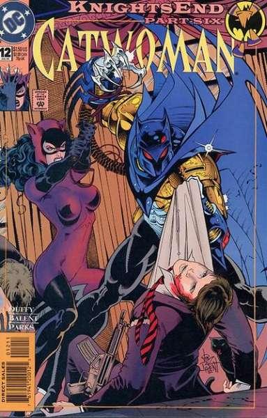 Catwoman 1993 series # 17 near mint comic book