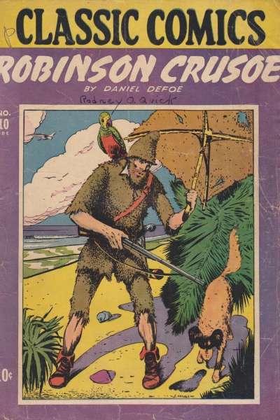 Classics Illustrated #10 comic books for sale