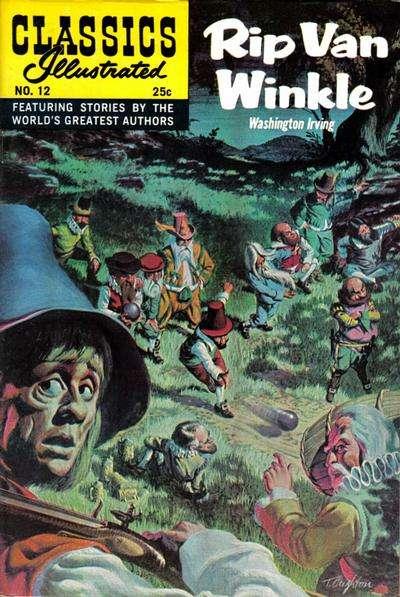 Classics Illustrated #12 comic books for sale