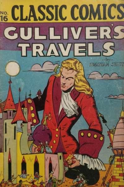 Classics Illustrated #16 comic books for sale