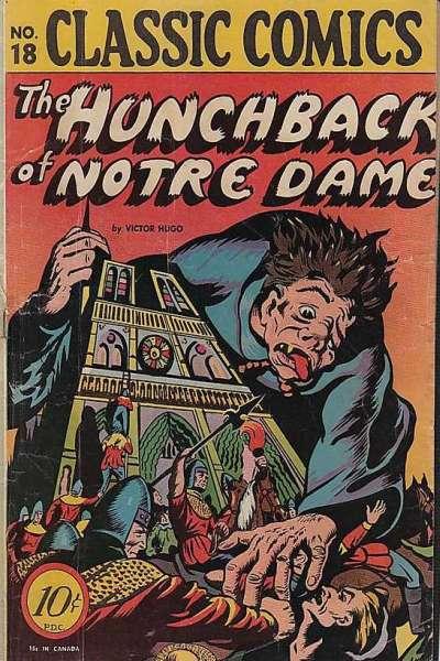 Classics Illustrated #18 comic books for sale