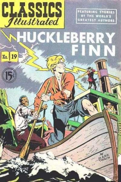 Classics Illustrated #19 comic books for sale