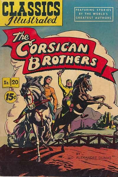 Classics Illustrated #20 comic books for sale