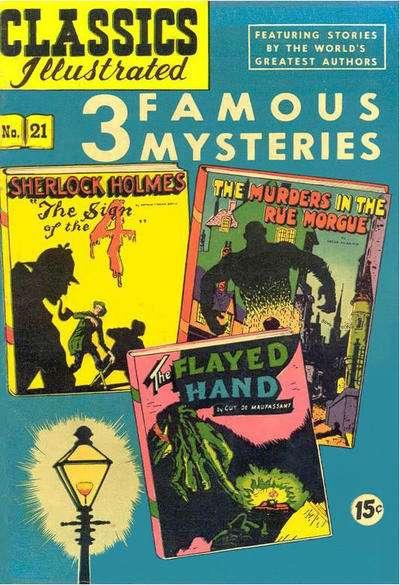 Classics Illustrated #21 comic books for sale