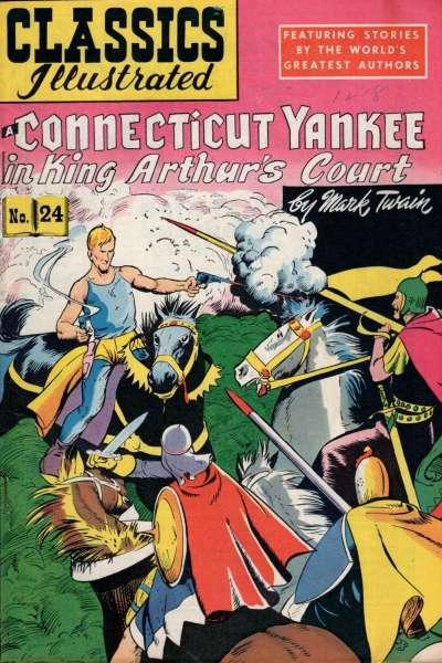 Classics Illustrated #24 comic books for sale