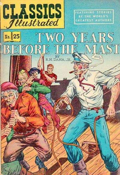 Classics Illustrated #25 comic books for sale
