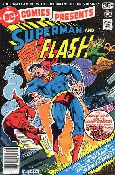DC Comics Presents comic books