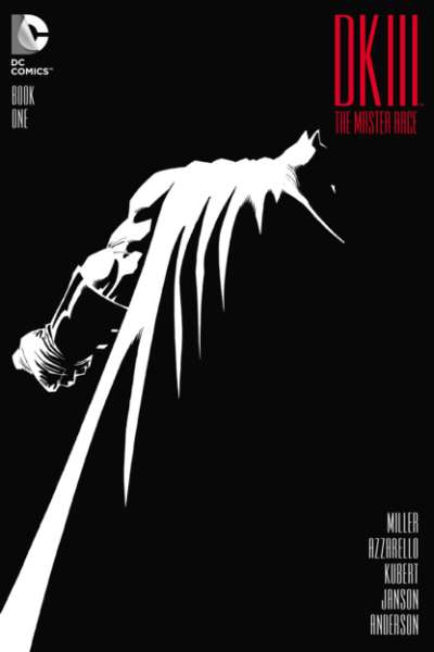 Dark Knight III: The Master Race #1 in Near Mint + condition. DC comics [*or]